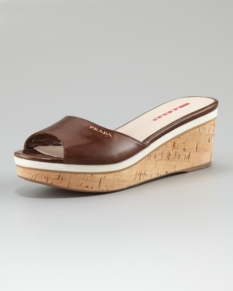Leather and Cork Slide