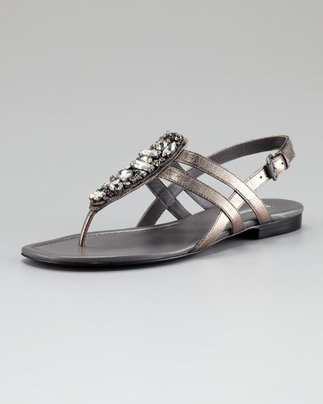 Winnie Bejeweled Sandal