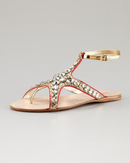 Bejeweled Starfish Sandal