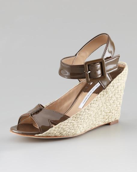 Sudan Jute-Wedge Sandal