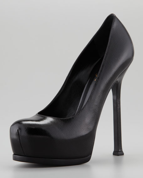 6fb5421264f Yves Saint Laurent Tribtoo Platform Pump
