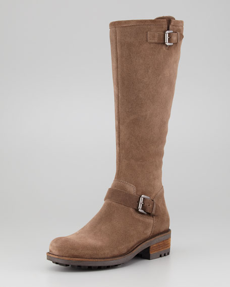 Caleb Oiled Suede Riding Boot