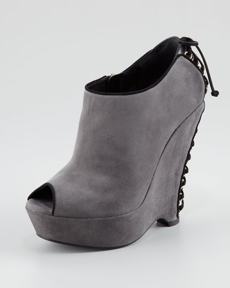 Madge Wedge Bootie