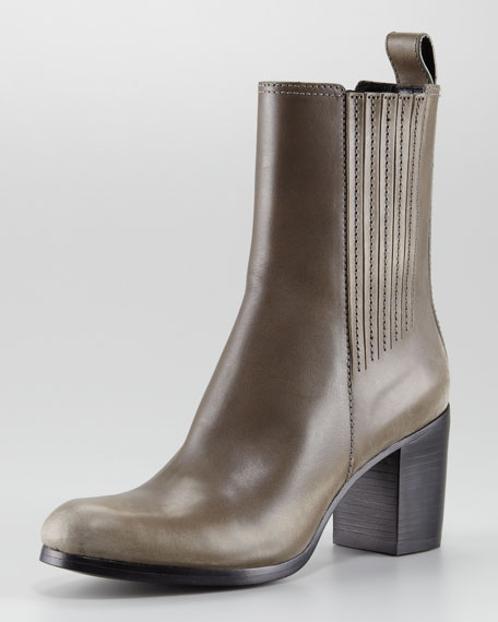 Donna Chunky-Heel Ankle Boot