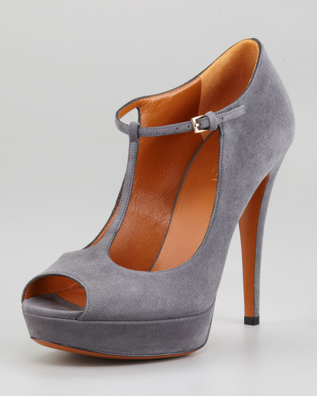 Betty Platform T-Strap Pump