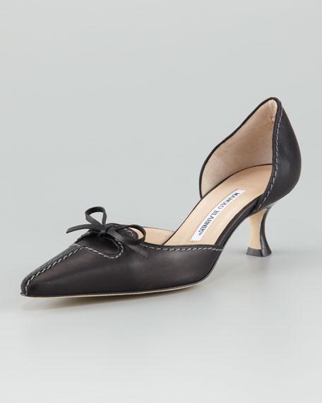 Kastrudo Bow d'Orsay, Black