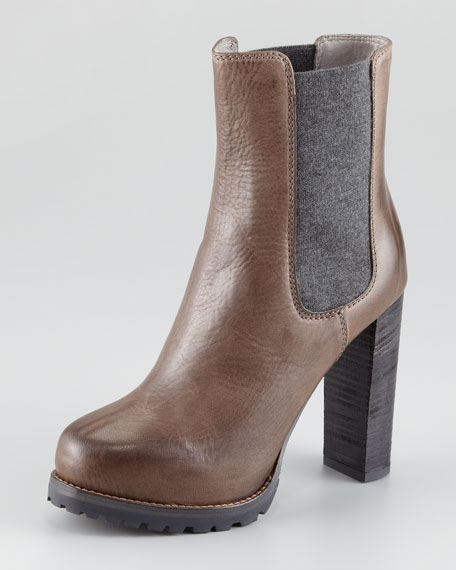 High-Heel Chelsea Ankle Boot