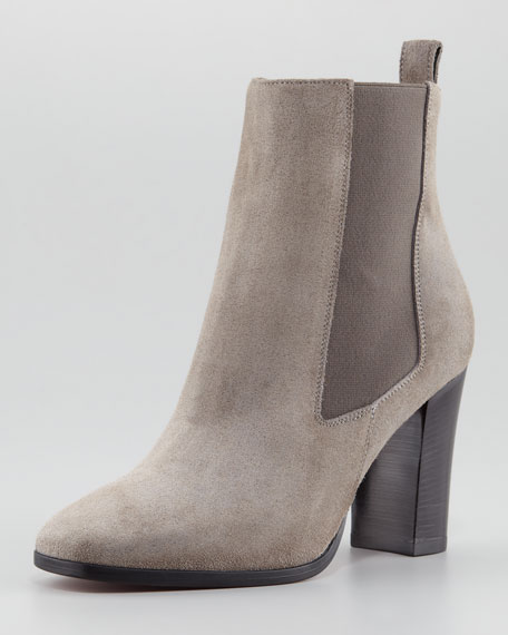Christian Louboutin Verabotta Calf Hair Red Sole Bootie, Gray