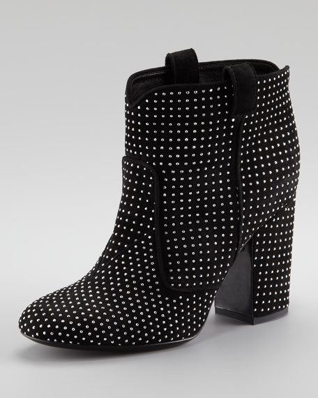 Pete Suede Studded Bootie