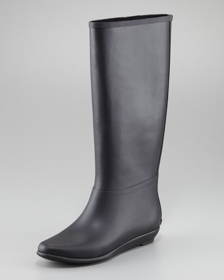 Back-Zip Rain Boot