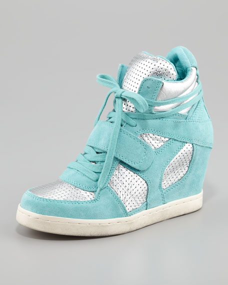 Cool Bis Two-Tone Wedge Sneaker