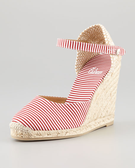 Carol Closed-Toe Wedge Espadrille