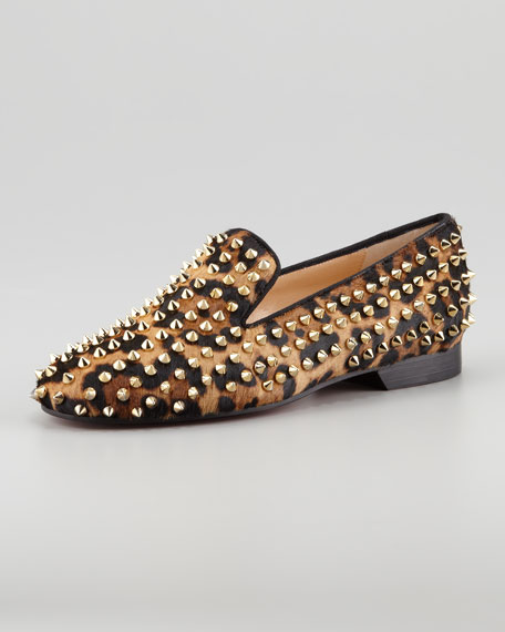 Rolling Spikes Red Sole Smoking Slipper