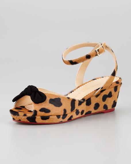Alexa Ankle-Strap Wedge Sandal