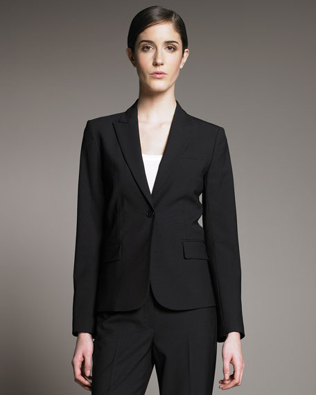 Gabe Black Long-Sleeve Jacket