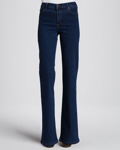 Bootcut Jeans, Dark Blue