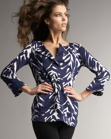 Printed Gaby Tunic