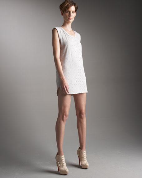 Rhinestone T-Shirt Dress