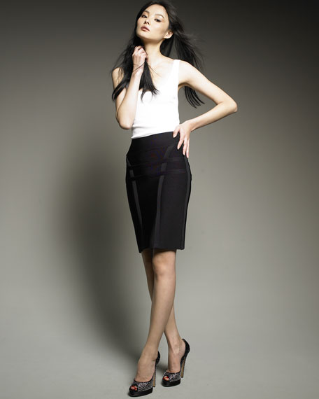Leonie High-Waist Skirt