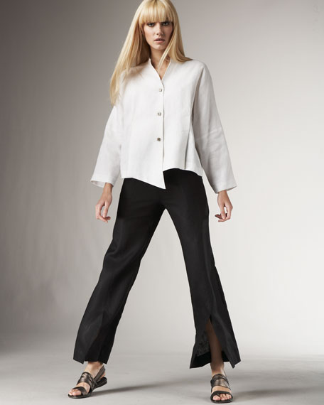 NM Exclusive Slit-Front Pant