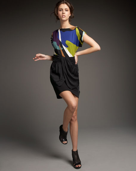 Harro Silk Combo Dress