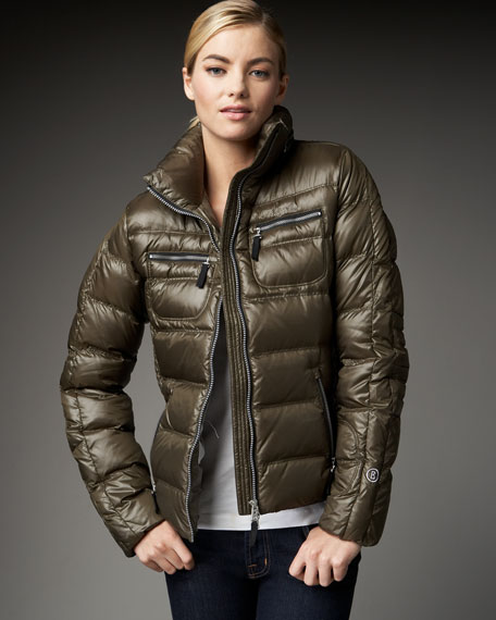 Side-Panel Puffer Jacket