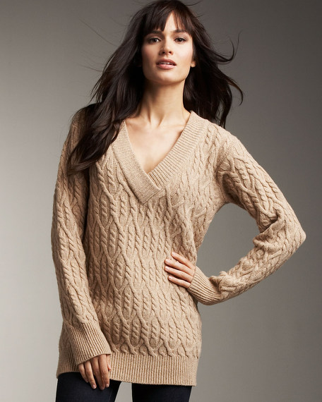 Donegal V-Neck Sweater
