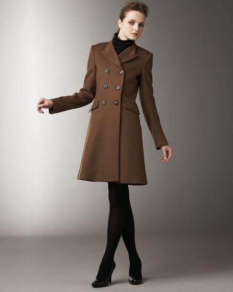 Three-Quarter Felt Coat