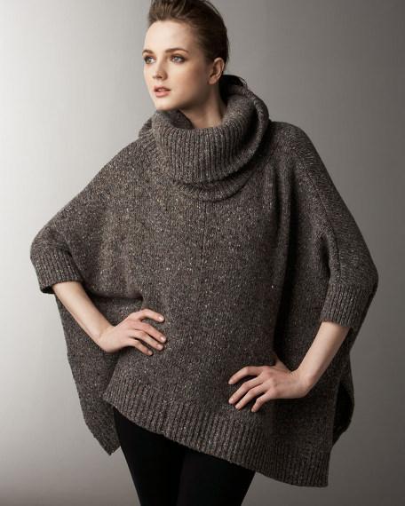 Chunky Asymmetric Cashmere Sweater
