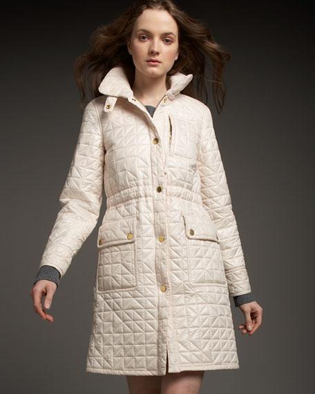 Triangle Puffer Coat
