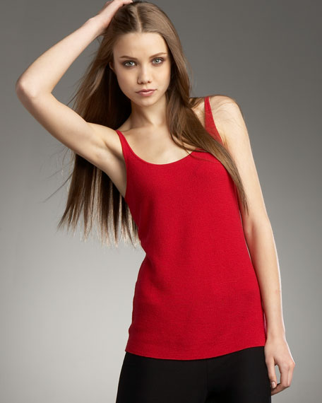 Washed-Wool Tank