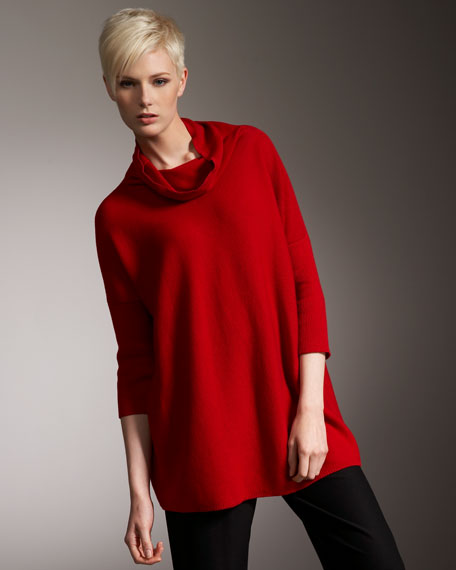 Oversize Cowl-Neck Sweater