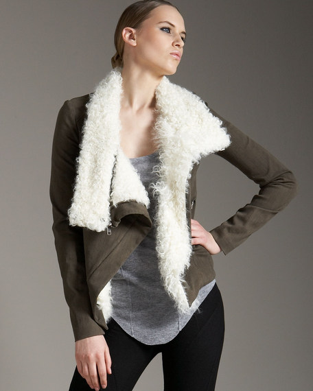 Shearling-Lined Jacket
