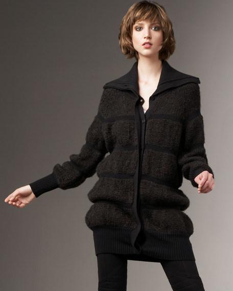 Shepherd Boucle Knit Jacket