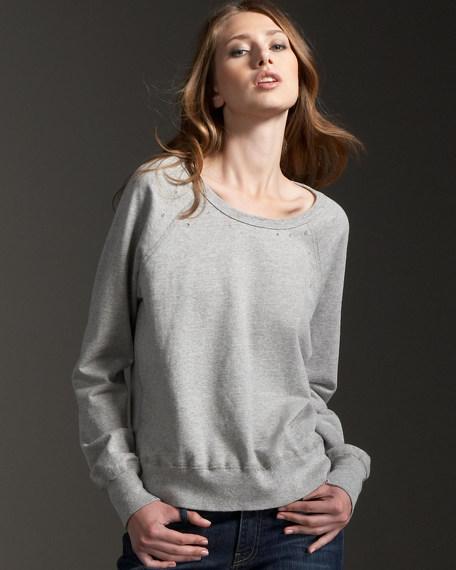 The Perfect Sweatshirt, Heather Gray