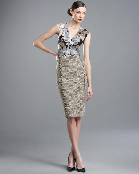 Spun-Knit Skirt