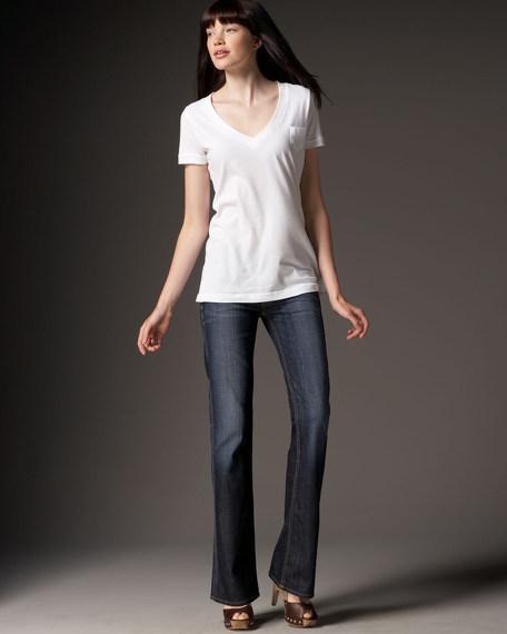 Elm Mid-Rise Boot-Cut Jeans