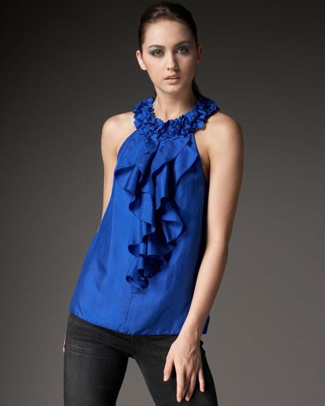 Silk Petal Top