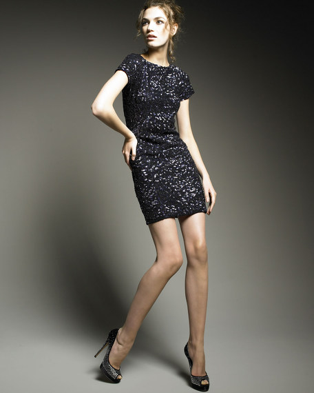 Cara Sequined Dress
