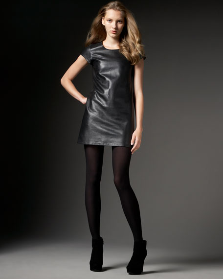 Perforated Leather Tunic