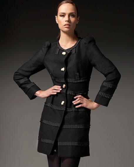 Flat Wool Coat