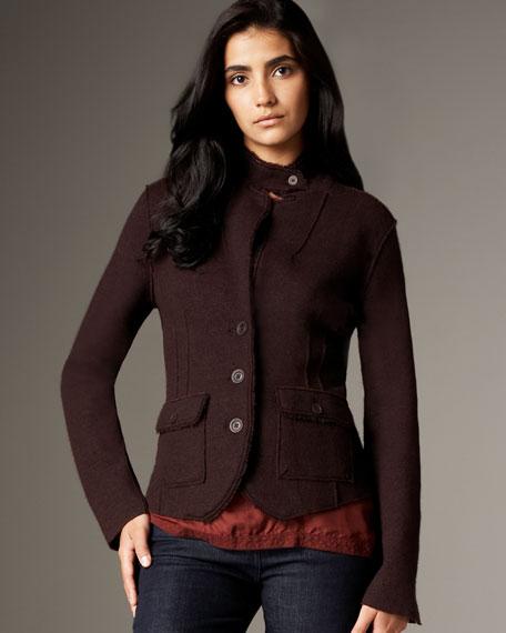 Double-Knit Merino Jacket