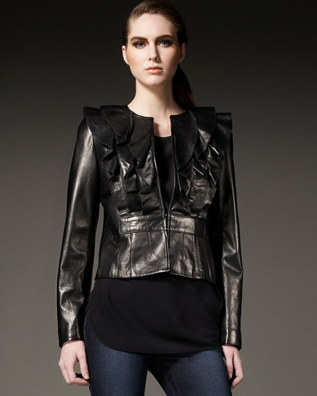 Cynthia Butter Leather Jacket