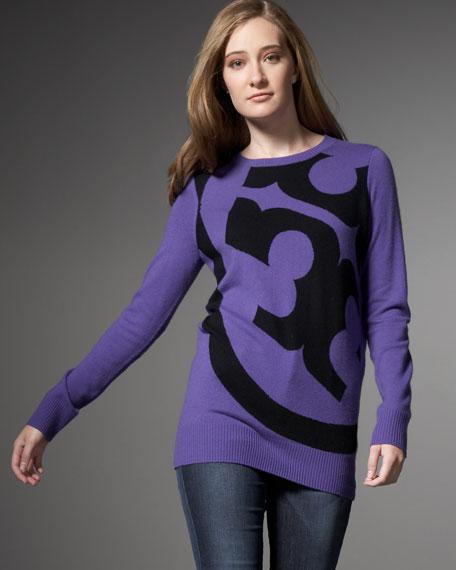 Ursa Logo Sweater, Jupiter Purple/Black
