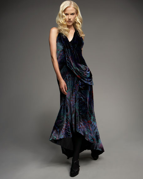 Love Affair Velvet Gown