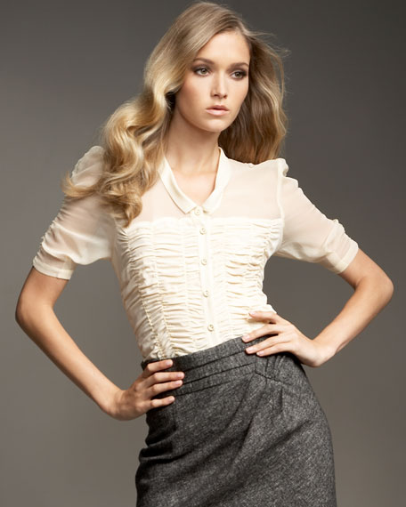 Seduction Ruched Top