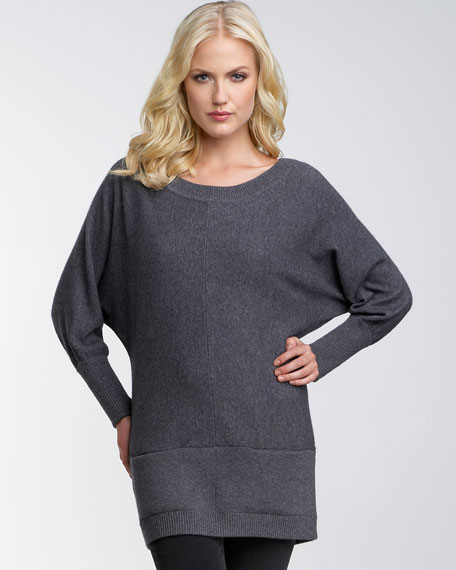 Dolman Cocoon Tunic Sweater