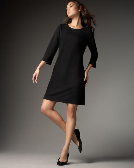 Knit Shift Dress