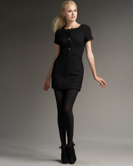 Abbey Tweed Dress