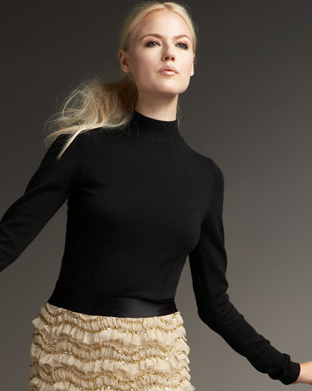 Audrey Silk-Cashmere Sweater